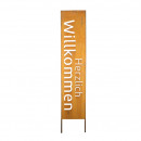wholesale Decoration: Metal sign Welcome to Plug